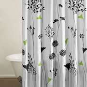 City Scene Asian Lily Shower Curtain
