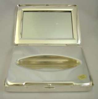 Tissue box silver plated mirror engravable