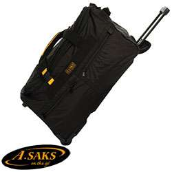 Saks 25 inch Expandable Wheeled Duffel Bag