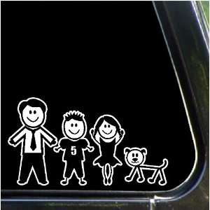 Sister. Dog Stick Family Decals Stick People Stickers: Home & Kitchen