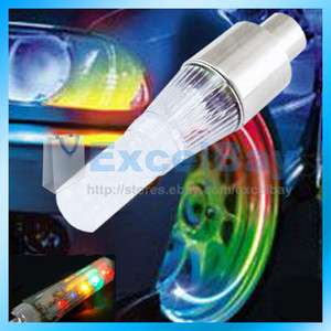 1Pcs Bike Bicycle Wheel Colorful LED Valve Light Lamp Hot Sale New