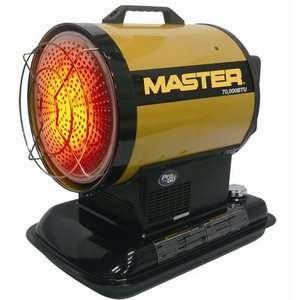 Master 70000 BTU Kerosene Radiant Heater Heating