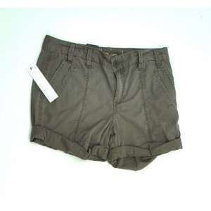 NEW CALVIN KLEIN JEANS WOMENS CASUAL SHORTS BROWN 6P