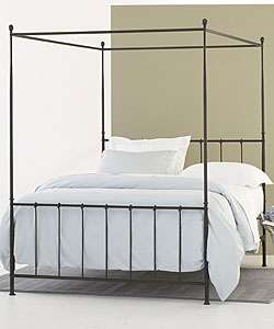 cal king size mirrored canopy bed frame storage and bonus bedding. Black Bedroom Furniture Sets. Home Design Ideas