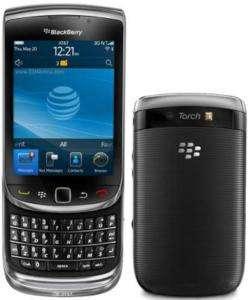 BLACKBERRY TORCH 9800 UNLOCKED BLACK GSM CELLPHONE 843163067912