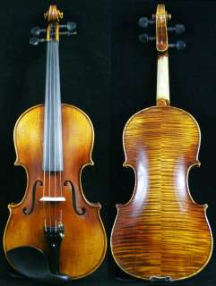 Come with rectangle Violin case, high quality brazilwood bow and Rosin
