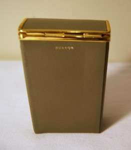 Vintage 1960s New Old Stock Lady Buxton Leather Cigarette Case