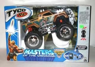 RC He Man MOTU Classics R/C Remote Control Monster Jam Truck