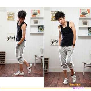 Brand New NWT Mens casual sporty capri pants shorts XL XXL Hiphop