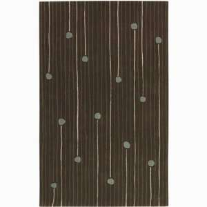 Designer Dot and Stripe Hand tufted Contemporary Rug