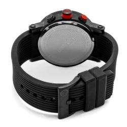 Red Line Mens Compressor Black Silicon Watch