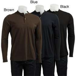 French Connection Mens Long sleeve Henley