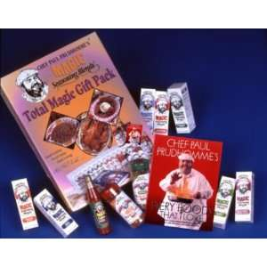 Chef Paul Prudhommes Magic Seasoning Blends ~ Total Magic Giftpack