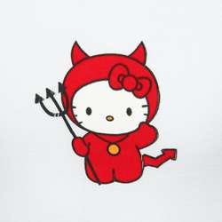 Hello Kitty Girls Little Devil Kitty Shirt