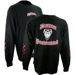 Syndicate Demon Black Long Sleeve T Shirt (SizeXL)