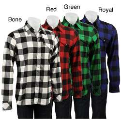 Triple Five Soul Lumberjack Plaid Flannel Shirt