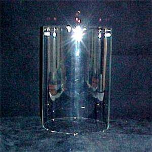 Cylinder Tube Candle Holder Light Lamp Shade Hurricane Clear