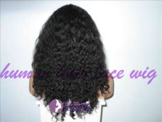 Wave 100% HUMAN HAIR Indian Remy Full Lace Wigs FASHION HOT !!