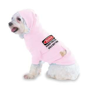 WARNING POWER TOOLS ARE A GIRLS BEST FRIEND Hooded (Hoody