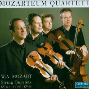 Mozart String Quartets No.15 in d minor, K417b (K421) / No.19 in C