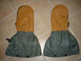 AIR FORCE USAF FLYERS N 4B EXTREME COLD MITTENS MEDIUM