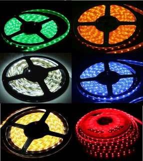 Color 1M or 5M 300 LED 3528 SMD Car Motorcycle Home DIY Strip Light