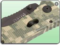 SOG Specialty Knives & Tools TF 11 Trident Tanto Digi Camo Knife