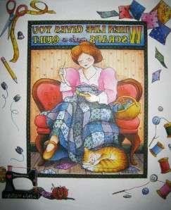 Life Gives Scraps, Make A Quilt SHIRT~S M L XL 2X 3X 4X