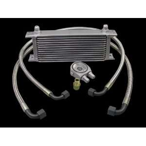Aluminum Universal 13 Row Oil Cooler Kit High Performance