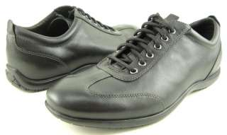 COLE HAAN AIR JAMESON Black Mens Oxford Shoes 12 M