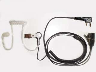 SWAT Type Headset for Kenwood Radios With 2 Prong Conn.