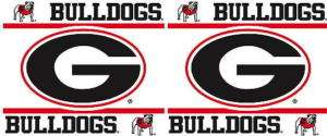 Georgia Bulldogs UGA Wall Border 5x15 Peel Stick