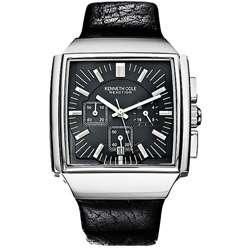 Kenneth Cole Mens Quartz Chronograph Strap Watch