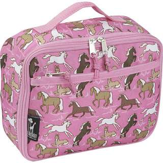 Wildkin Horses in Pink Lunch Box Kitchen & Dining