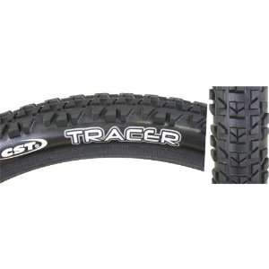 CST Tracer Tire, 24 x 1.95, Wire Bead, Black/Black