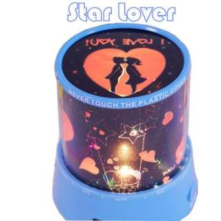 Star Lover Projector LED Projection Light Valentine Romantic Gift 240V