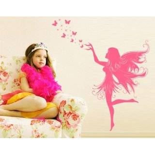 Vinyl Wall Decal Sticker Fairy on Swing AC134s Everything