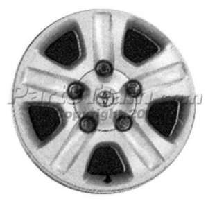 ALLOY WHEEL toyota LAND CRUISER 03 04 17 inch suv Automotive