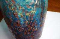 REMARKABLE DRAG SWAG DALE TIFFANY MILANO MURANO ART GLASS VASE GOLD