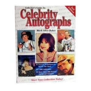 Guide To Celebrity Autographs Book Case Pack 24