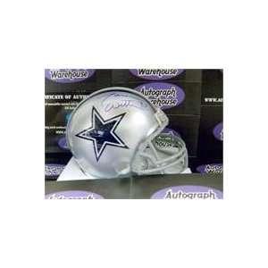 Jason Witten autographed Dallas Cowboys Mini Helmet