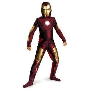 Boys Iron Man Costume 10 12 Husky Toys & Games