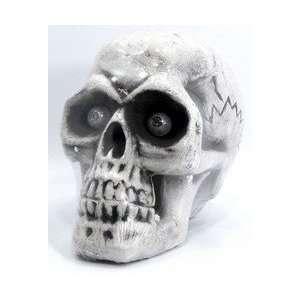 Halloween Decorations skull 3 color led eyes 10.65lx12h