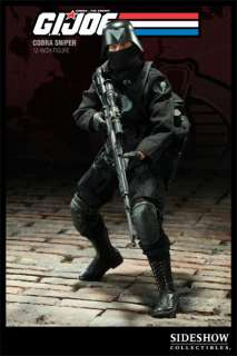 Sideshow GI Joe Cobra Sniper 12 Action Figure NEW