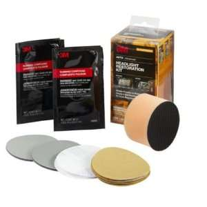 3M HEADLIGHT RESTORATION KIT 39084 Home & Kitchen