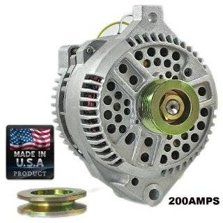New High Output Alternator for Ford Mustang 200 Amp One Wire