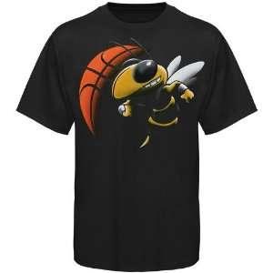 Georgia Tech Yellow Jackets Black Blackout T shirt  Sports
