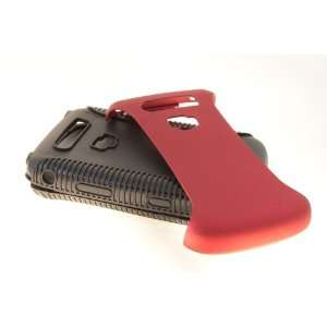 Blackberry Torch 9800 / 9810 Hybrid Case Cover for Red