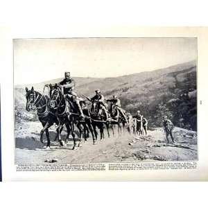1915 16 WORLD WAR SERBIAN BOY FIGHTERS ARTILLERY TEUTON