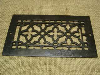 Vintage Cast Iron Register Grate  Antique Old Hardware